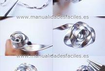 Silversmycken / Ideer för tillverkning av smycken i 925 silvertråd
