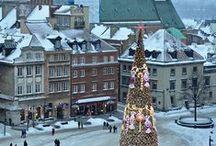 Vánoce - města