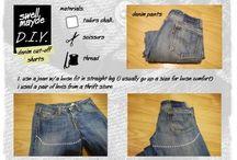 Cut off shorts/shirts