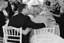 Nicky + Erik: Modern White Country Club Wedding