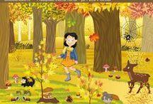 -Herfst- [Groep 1/2] / Lesideeën in het thema herfst voor de kleutergroepen.