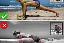 Correct execution of exercises