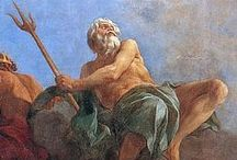 Poseidon  / Poseidon (Neptune), the Greek god of the Seas