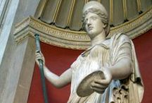 Statues in Italy and the Vatican