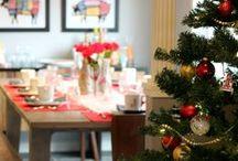 Yılbaşı Gecesi için Dekorasyon Önerileri / Ev, ağaç, masa süslemeleri