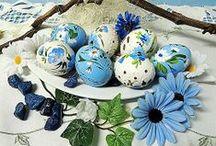 Veľká noc / Ručne maľované kraslice nájdete aj tu: https://www.facebook.com/pages/Kraslice-od-Cecil/522005174508169 a tu: http://www.sashe.sk/Cecil/moje/velkonocne-kraslice