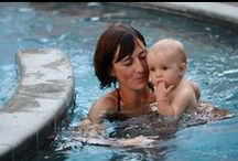 Séances Maman Bébé Papa / L'occasion de partager des moments de plaisir et des instants inoubliables avec votre bébé (à partir de 6 mois) à travers un premier contact avec l'élément aquatique.