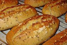 recepty- chlieb, pecivo