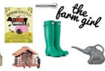 Farm Gifts & Finds / Perfect ideas for making and giving gifts for the farmgal or guy in your life, and maybe even a few to add to your wishlist.  We love these ideas from kitchen gifts to pampering treats.