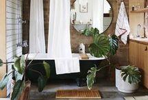 Salle de bain / #Deco et #reno pour une salle de bain de rêve!
