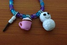 Homemade jewelry / This jewelry is homemade and It is a cheap way to accessorize