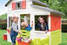 Domčeky pre deti / Hľadáte zábavu pre svoje deti, s ktorou sa vyhrajú celé hodiny? U nás nájdete široký sortiment nádherných detských domčekov, záhradných domčekov či cenovo výhodných setov domčekov pre deti s ďalšími hračkami.