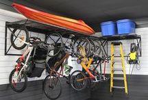 Garages, cabanons et ateliers / Parce qu'on aime ça, des outils bien rangés!
