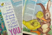 Drawing on Faith / The beauty and inspiration of Bible journaling.