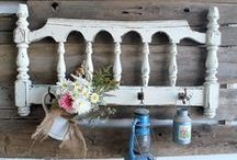 Let's Get Crafty - Farm Decor / From lampshades to painted furniture to the perfect Roman shade, crafts to beautify your farmhouse.