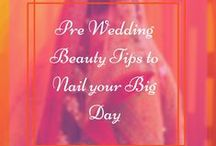 Wedding Tips / Bridal health & bridal beauty tips & tricks to look stunning on the wedding day. Bridal makeup, bridal dresses, bridal trends, bridal tips, bridal hairstyles.