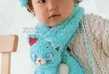 Crochet scarfs