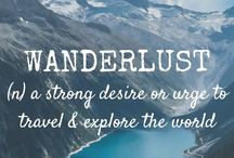 Wanderlust and inspiration