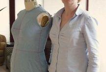Ajuster une toile - fitting a muslin / La différence entre un vêtement du commerce et un vêtement sur mesure.