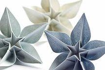 Pliage origami cartonnage