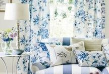 blue and white rooms, mostly / by Harriett Seckinger