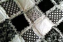 Chenille, rag quilt, rug hooking...