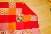 Meine Projekte/Inspirationen  / Patchwork Decken sind von mir selbst gemacht
