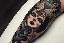 sketch tattoo and tattoo / ideas y artistas a seguir