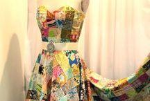 Patchwork vêtements / Des vêtements faits de petits bouts de tissus