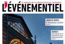Couvertures du magazine L'ÉVÉNEMENTIEL