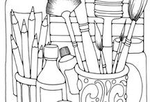 ARTSY IDEAS, INFO / by Marilyn Albers