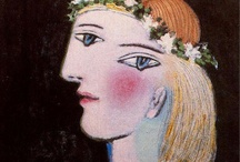 ARTSY FACES / by Marilyn Albers