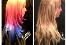 From our Salon / Some pictures of Tammy's work