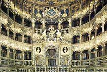 grand (historic) interiors / interiors, spaces, designs, patterns, colours, moods, etc