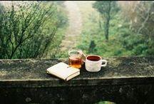 Book,tea,coffee=me