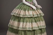 Well-Dressed History: 1850-1859 / Extant garments 1850-1859