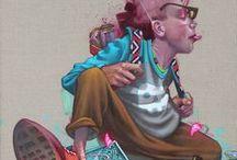 urban art / Colour the world / by MOJO/