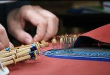 Lacemaking / We offer lacemaking classes in the summer in the French Alps.