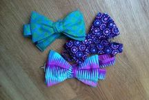 Bow Ties for Him and Her / Fresh, stylish and cruelty-free bow ties made of vegan fabrics - mostly from cotton, bio cotton and cotton and bio cotton denim.