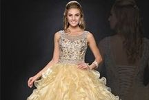 Quinceanera Dresses / The finest designs in princess gowns for celebration of the Quinceanera.