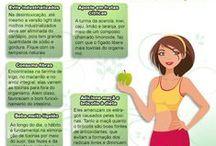 Vida e Saúde / Como manter a saúde com produtos naturais. Qualidade de vida.