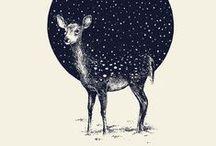 Illustration / Beautiful inspirational illustrations / by MOJO/