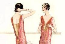 Fashion Plates and Portraits: 1920s-60s