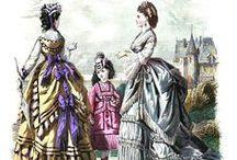Fashion Plates and Portraits: 1870-1876