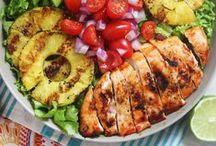 Recipes, yummy food, healthy salads