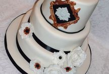 Wedding Cakes by Eva-Rose Cakes / Beautifully custom crafted bespoke wedding cakes to each of the couples' tastes and requirements. Cakes as individual as each of the couples themselves.  All designed, handmade and baked by Eva-Rose Cakes.  / by Eva-Rose Cakes