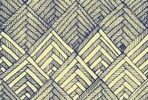 Beautiful Patterns / Patterns to get the creative wheels turning.