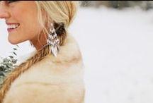 Winter Wedding / Snowy winter wedding photographed by Benj Haisch