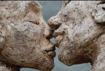 Sculptures by Marianne van den Berg / sculpture ceramic