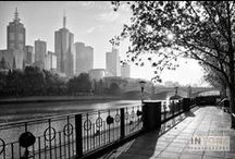 My Monochrome Melbourne / My black and white images of Melbourne